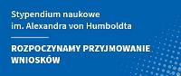 Do 1października 2018 r. trwa nabór zgłoszeń w ramach konkursu na stypendium im. Aleksandra von Humboldta. Stypendium może być przyznane niemieckiemu uczonemu na okres od 3 do 6 miesięcy na […]