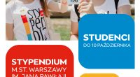 Do 10 października warszawscy studenci mogą się ubiegać o Stypendium m.st. Warszawy im. Jana Pawła II. Ten największy samorządowy program stypendialny w Polsce skierowany jest do uczniów szkół podstawowych i […]
